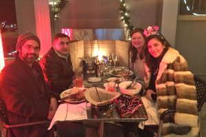 New Year's Eve dining at Harold's