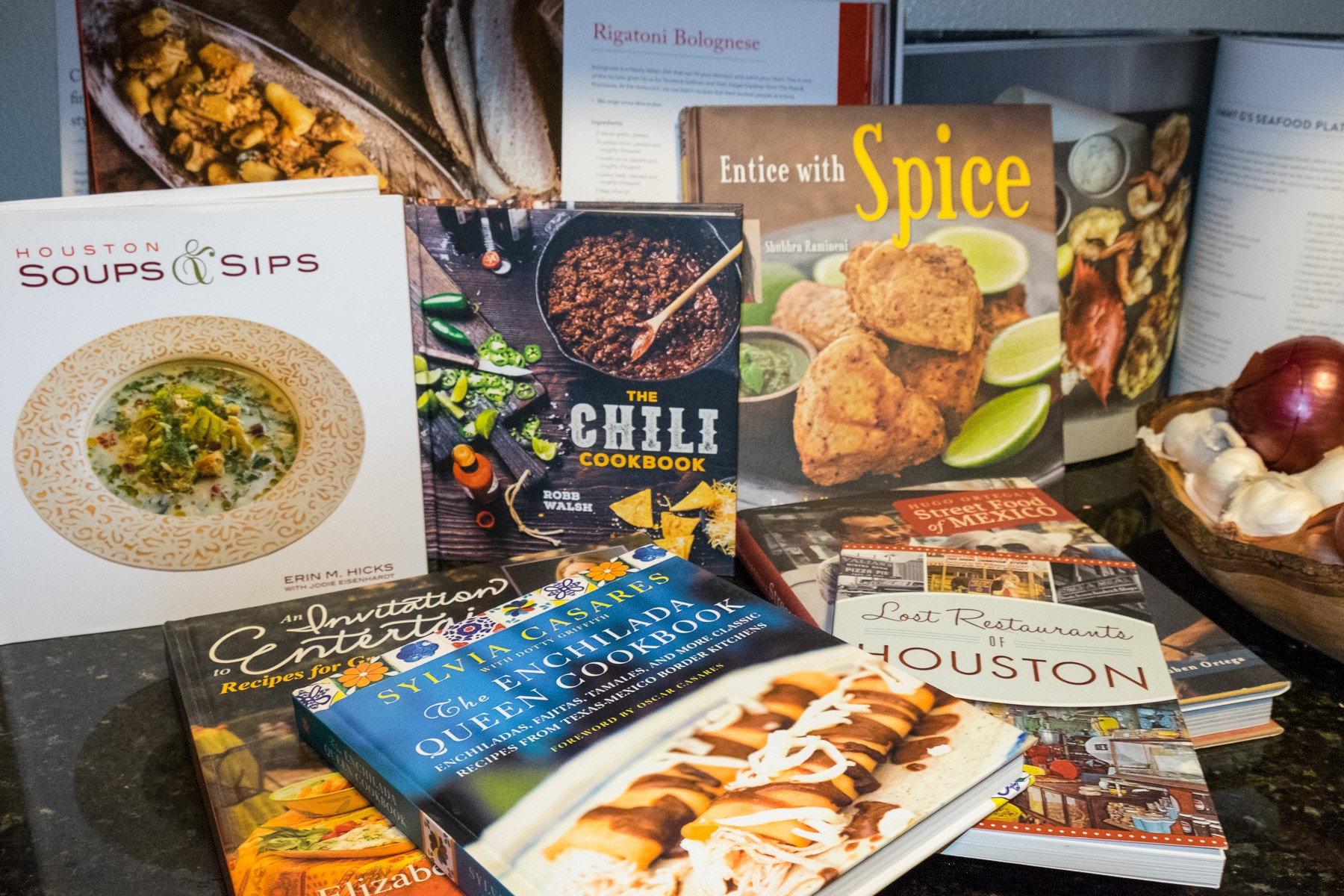 Houston cookbooks