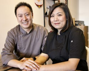 Picture of Richard (left) and Rachel (right) Lin.