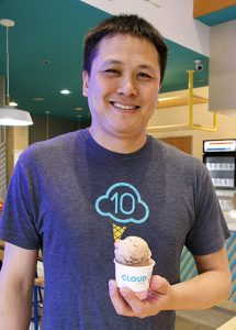 Pastry chef Chris Leung of Cloud 10 Creamery