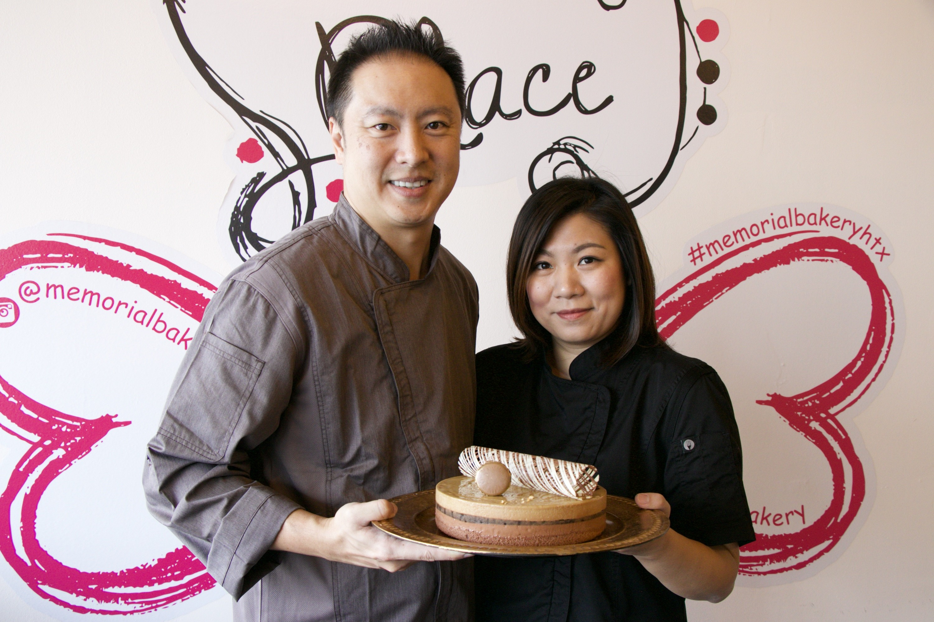 Richard and Rachel Lin of Memorial Bakery