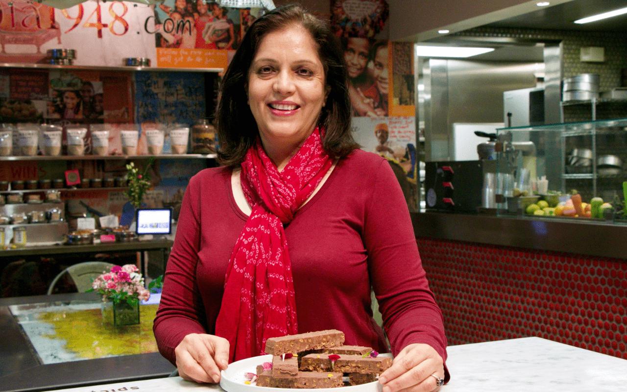 Anita Jaisinghani from Pondicheri Bakery