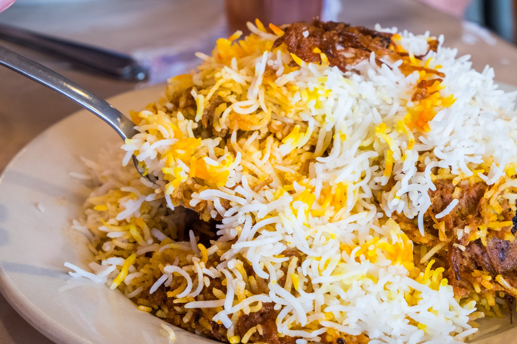 biryani at Himalaya