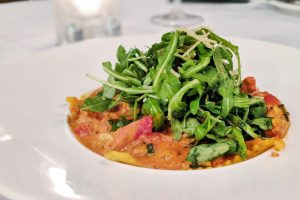 Maine Lobster Stuffed Ravioli at The Union Kitchen in Bellaire