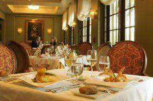 Hotel Granduca dining room