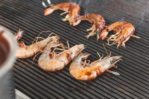 shrimp at Eight Row Flint