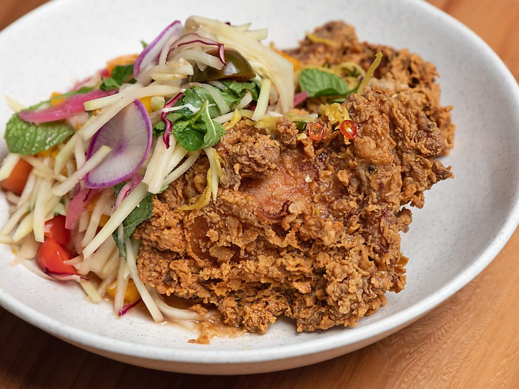 Thai-Style Fried Chicken at Decatur