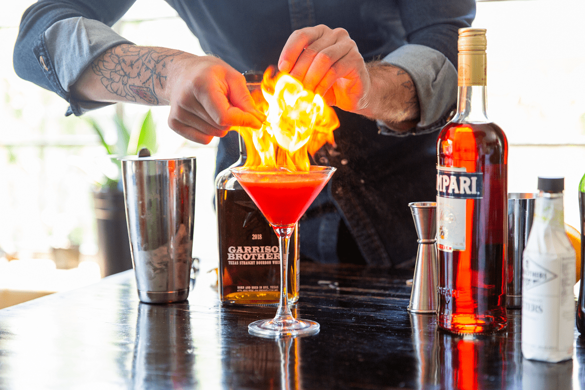This Houston Bartender Is Headed To A Texas Bourbon