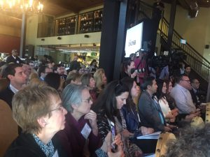 James Beard announcement crowd in Houston