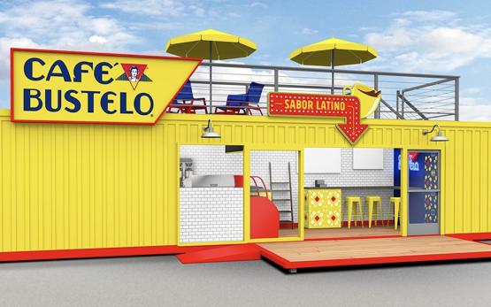 Cafe Bustelo pop-up