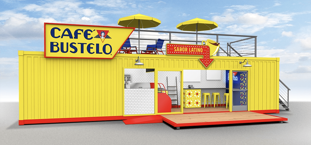 Cafe Bustelo pop-up