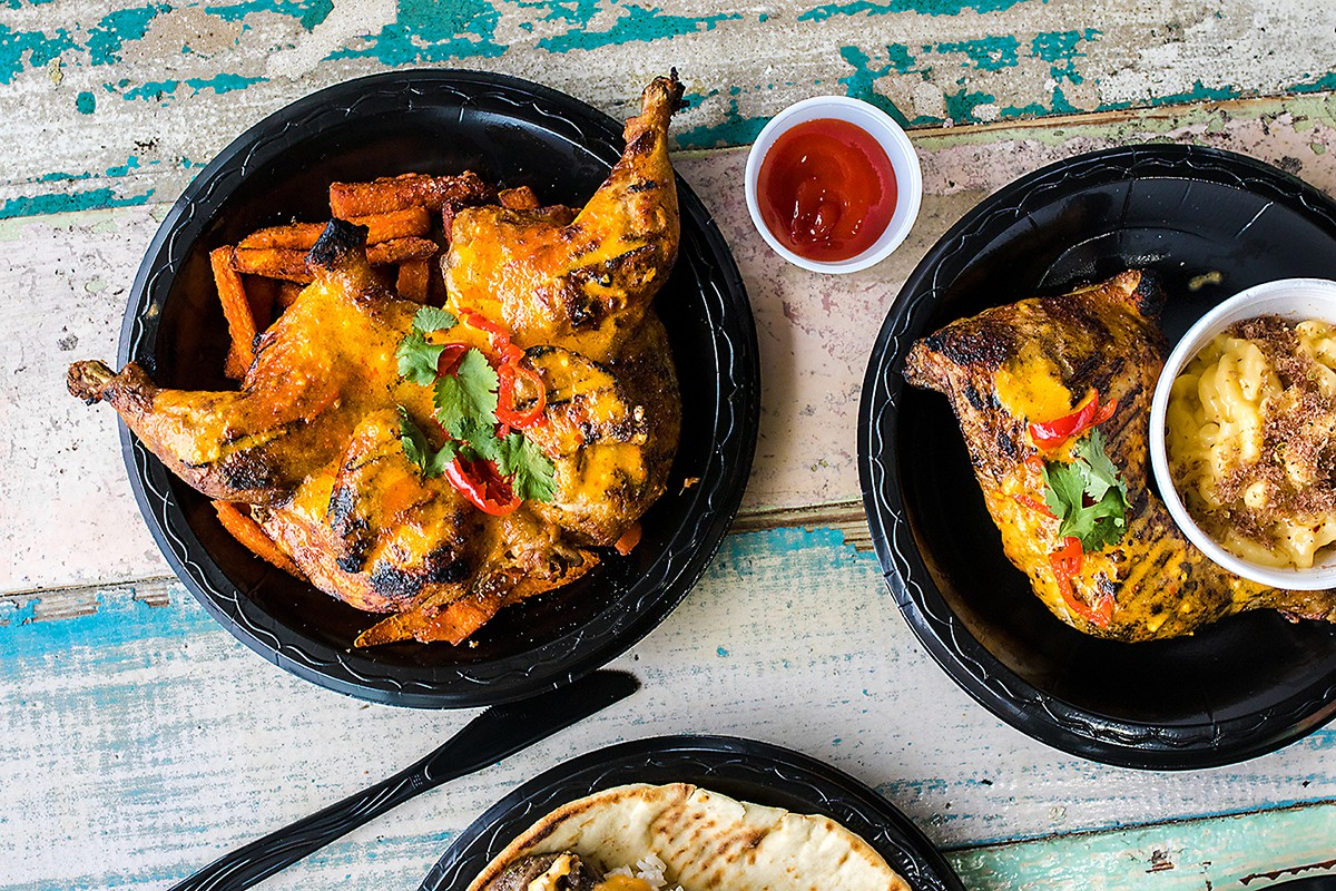 Peri Peri Chicken at Peli Peli Kitchen