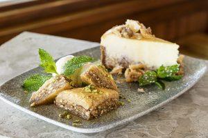 baklava at Yia Yia Mary's