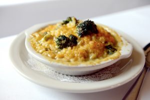 Broccoli Cheese Risotto at Killen's Steakhouse