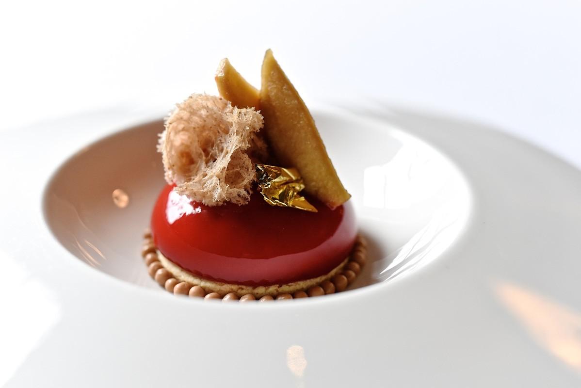 Caramel Apple dessert at Killen's Steakhouse