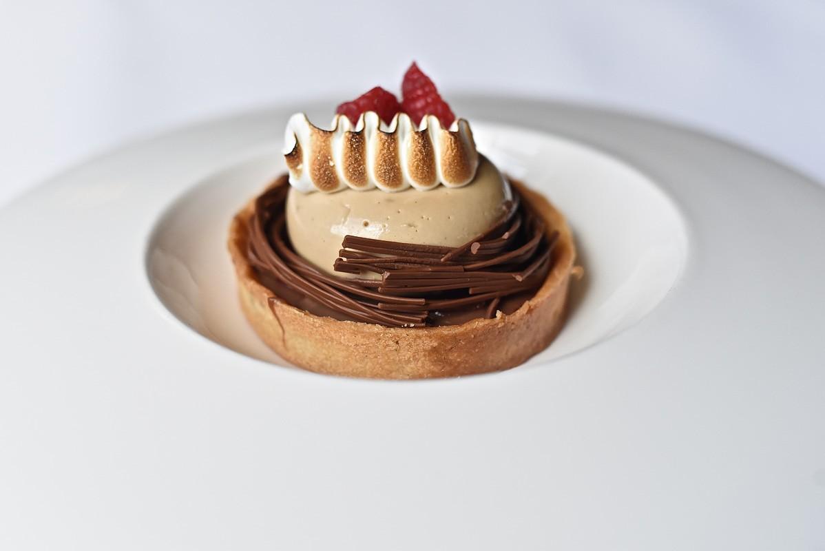 Chocolate tart at Killen's Steakhouse
