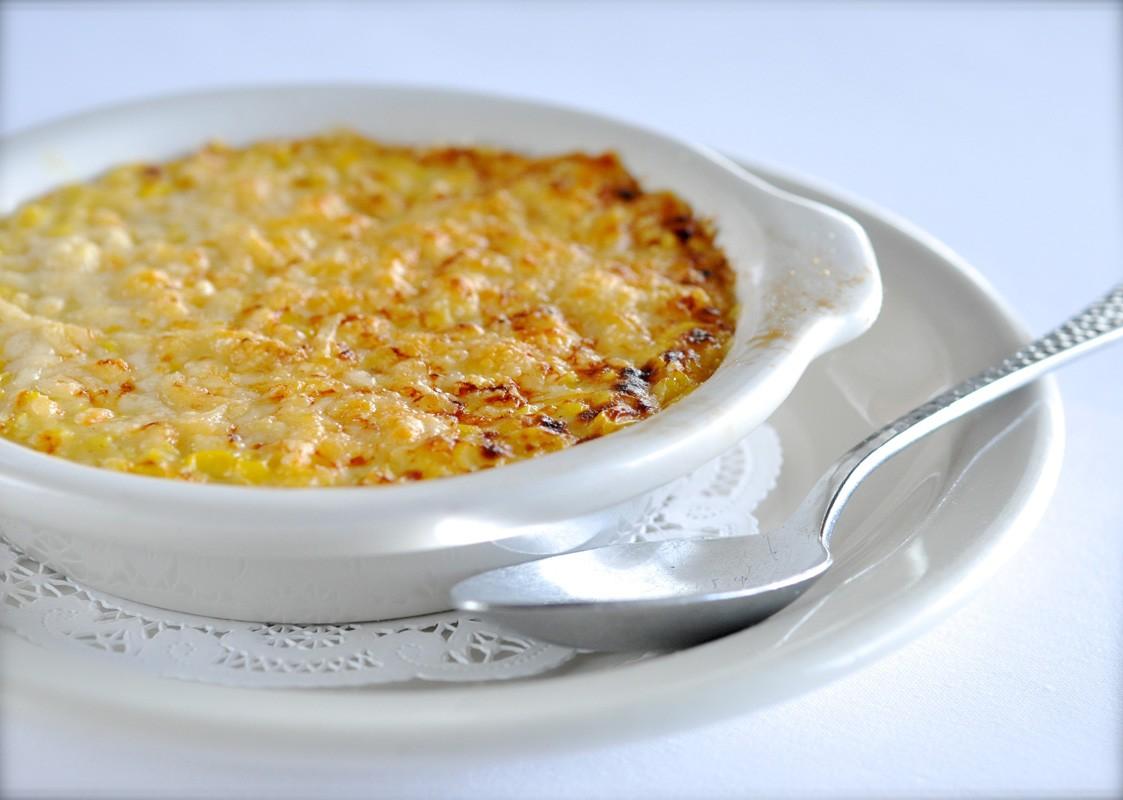 Creamed corn at Killen's Steakhouse