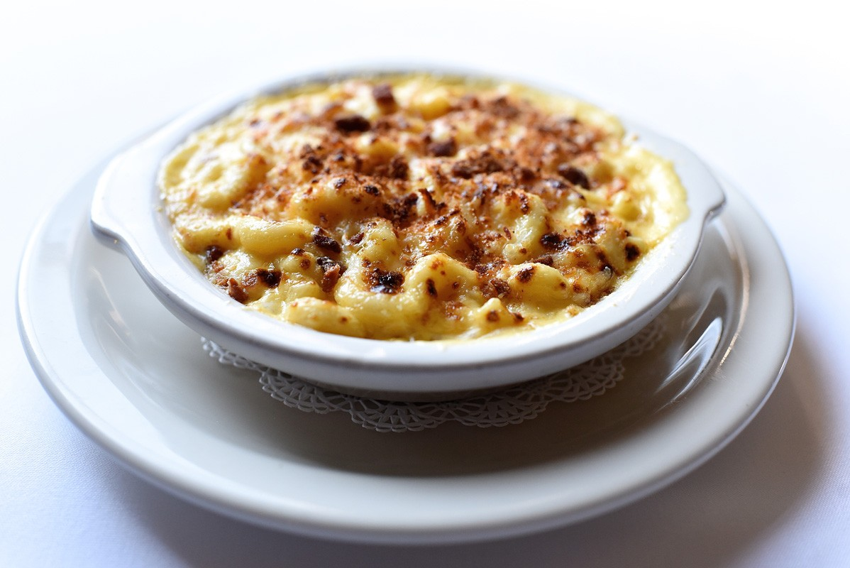 Macaroni and cheese at Killen's Steakhouse