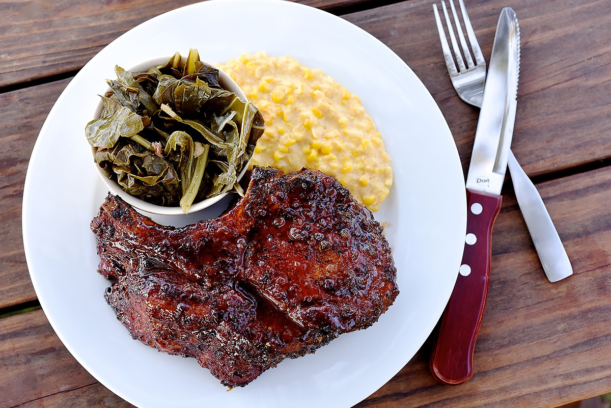 Killen's pork chop