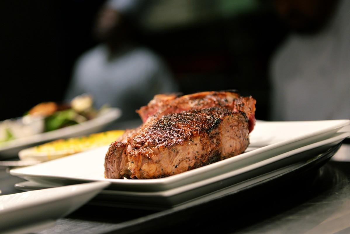 T-bone steak at Killen's Steakhouse