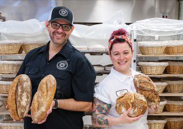 asos Katsaounis and head baker Desirae Vasquez
