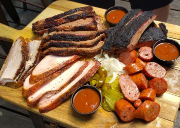 meats from Buck's Barbeque