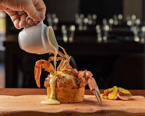 crab fat dough at Reef
