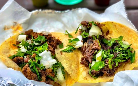 tacos from the Taco Stop