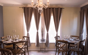 private dining room at ROMA
