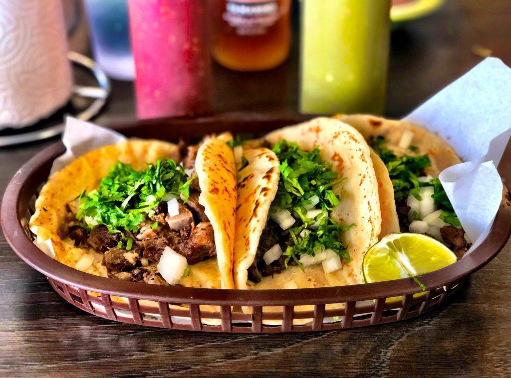 Tacos at La Fondita Michoacán