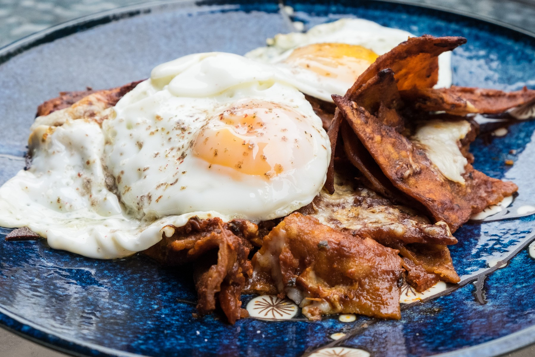 chilaquiles from Ford Fry's Tex-Mex cookbook
