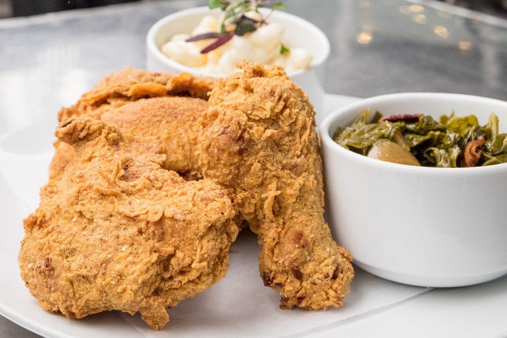 fried chicken at Harold's