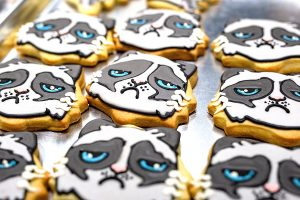 Grumpy Cat cookies