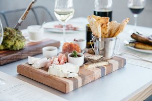Sixty Vines' salumi and cheese board