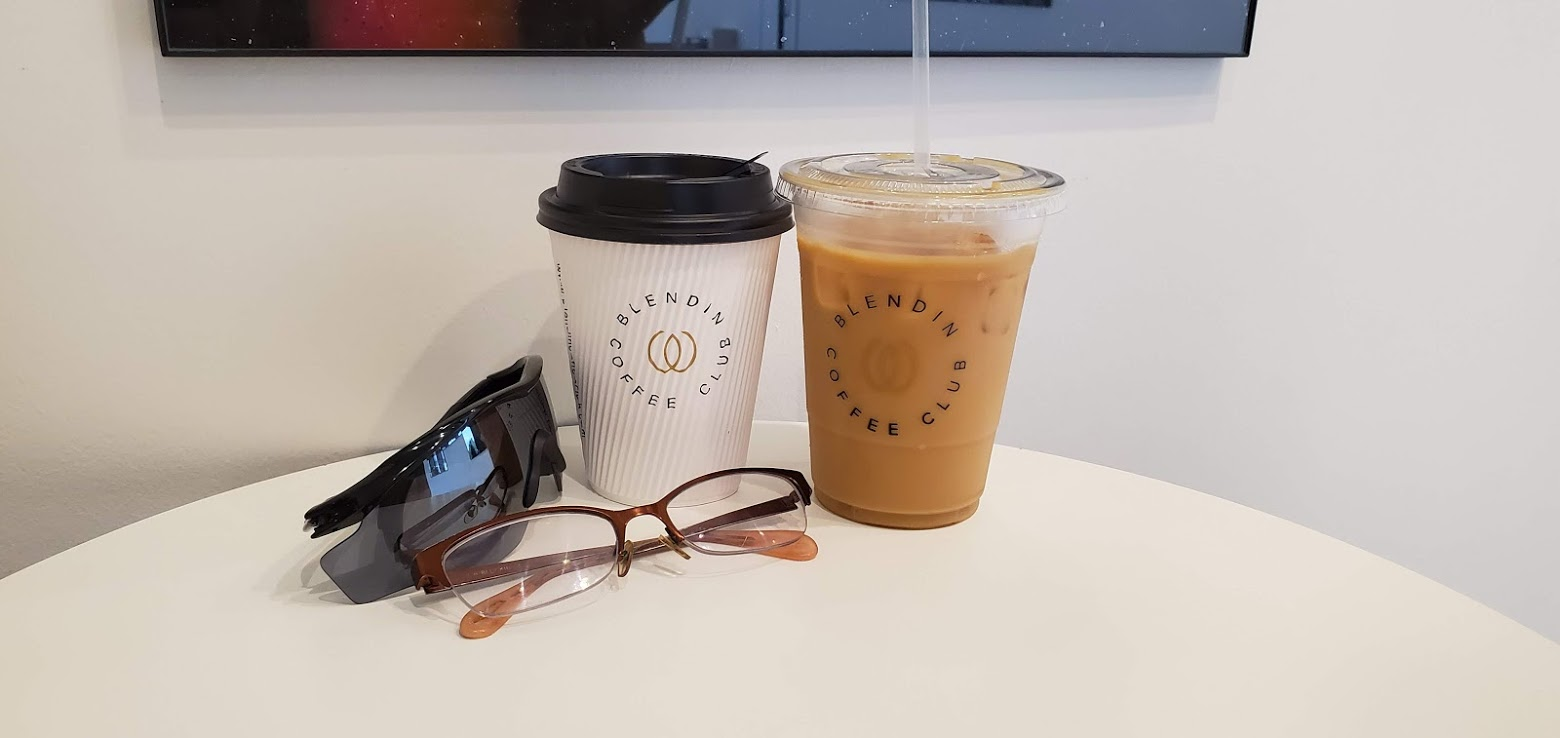 Hot or Iced Coffee at Blendin Coffee Club