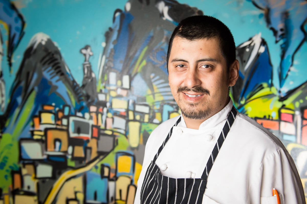 Chef and owner David Guerrero