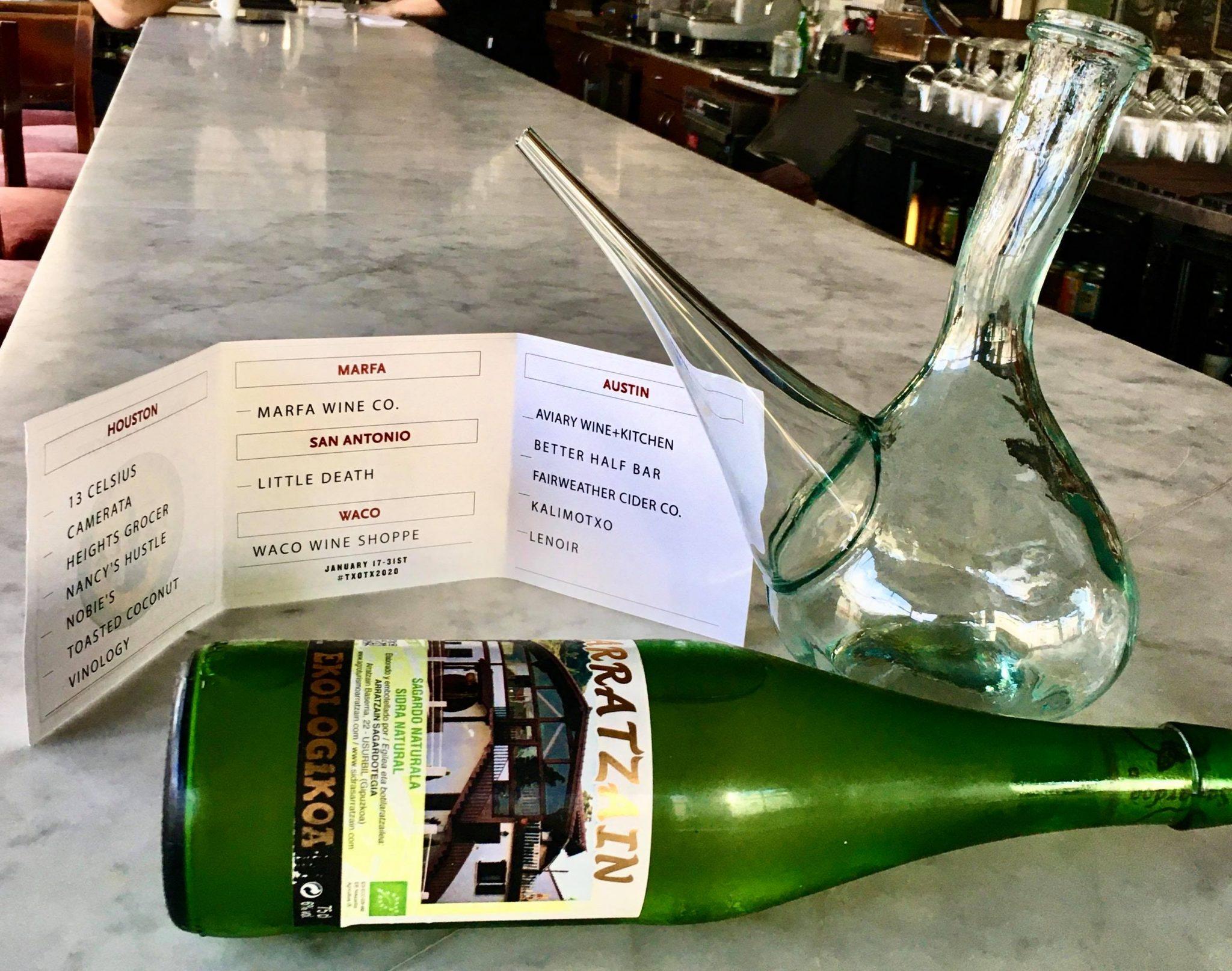 A TXOTX passport, Basque cider and pórron at Camerata