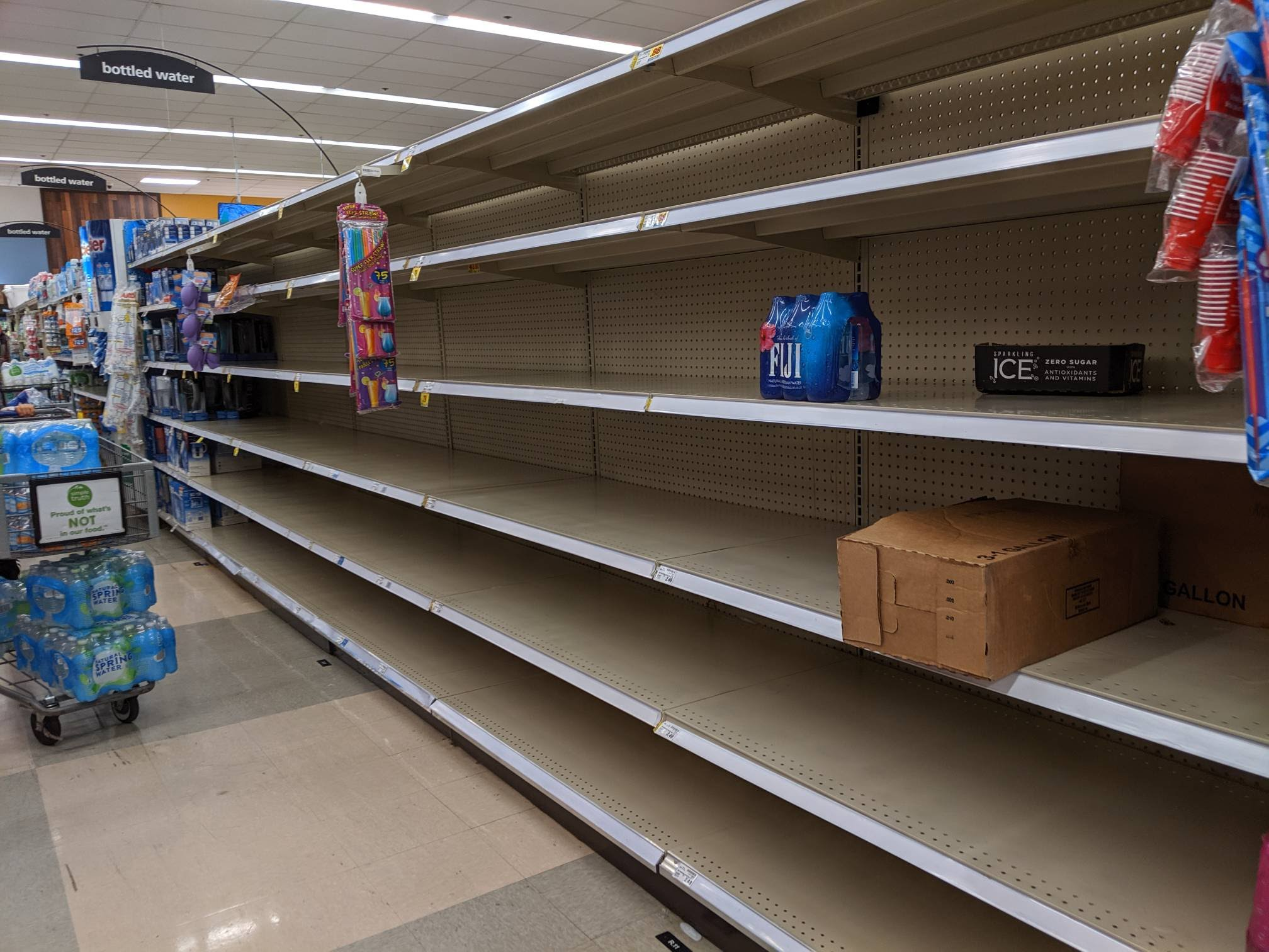 Kroger out of water