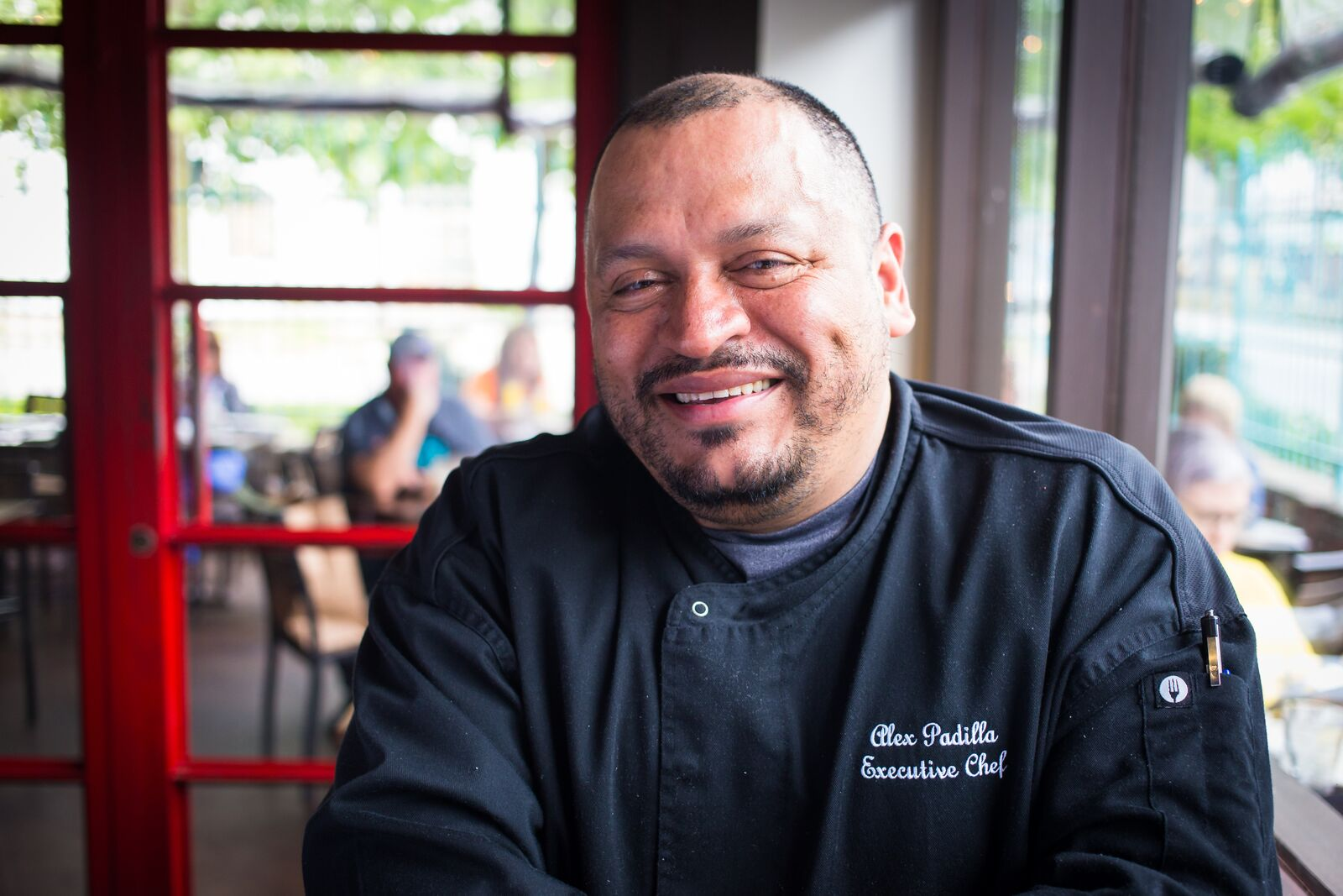 Executive chef Alex Padilla of The Original Ninfa's On Navigation