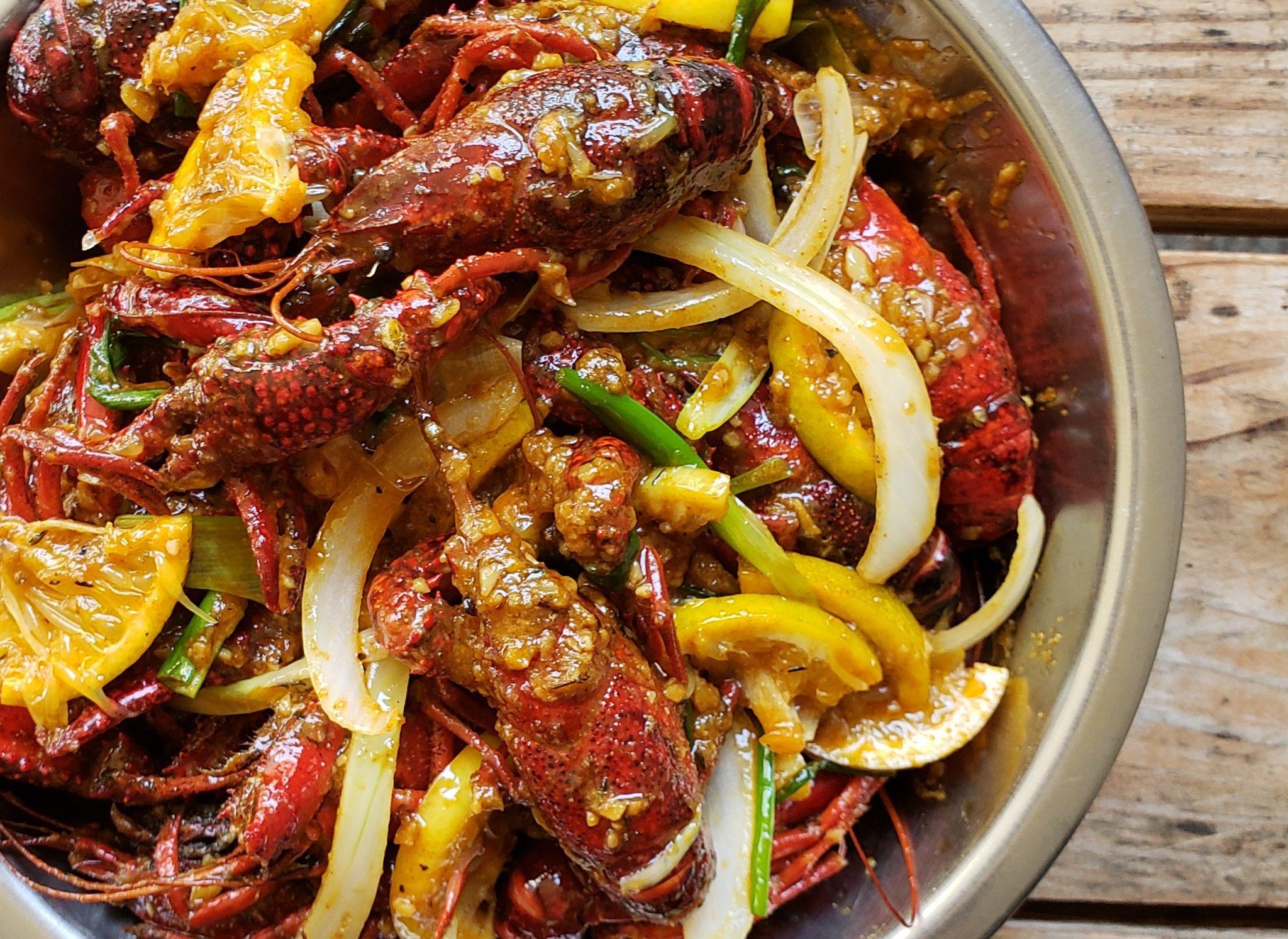 Kitchen Special Crawfish at Cajun Kitchen