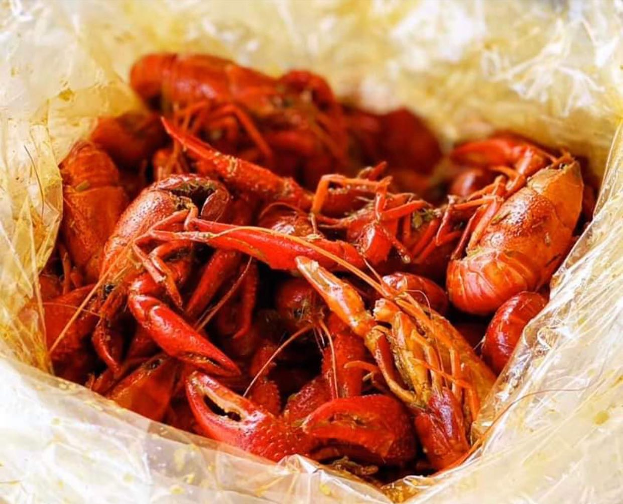 Malaysian Curry Crawfish to go at Phat Eatery in Katy
