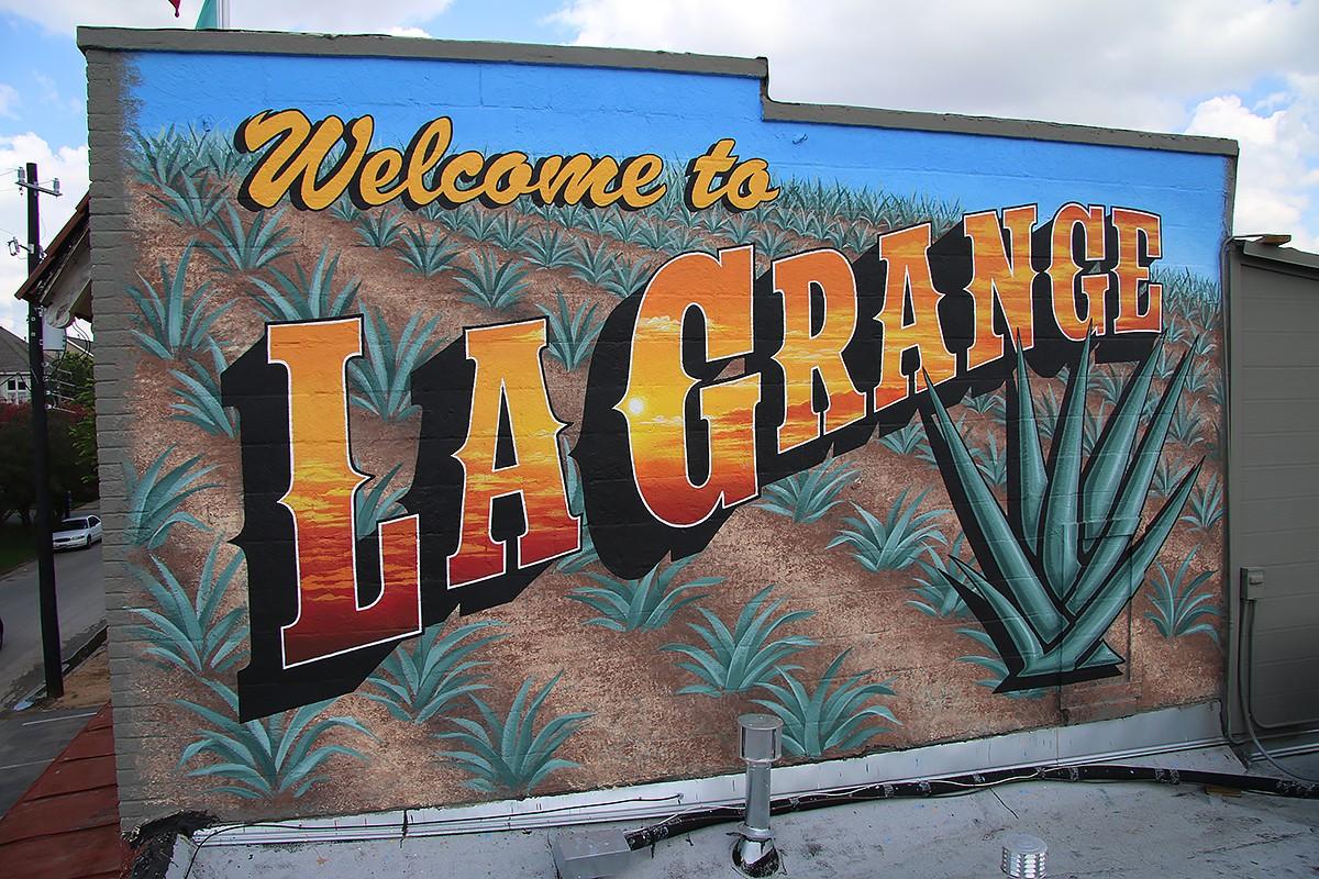 La Grange mural