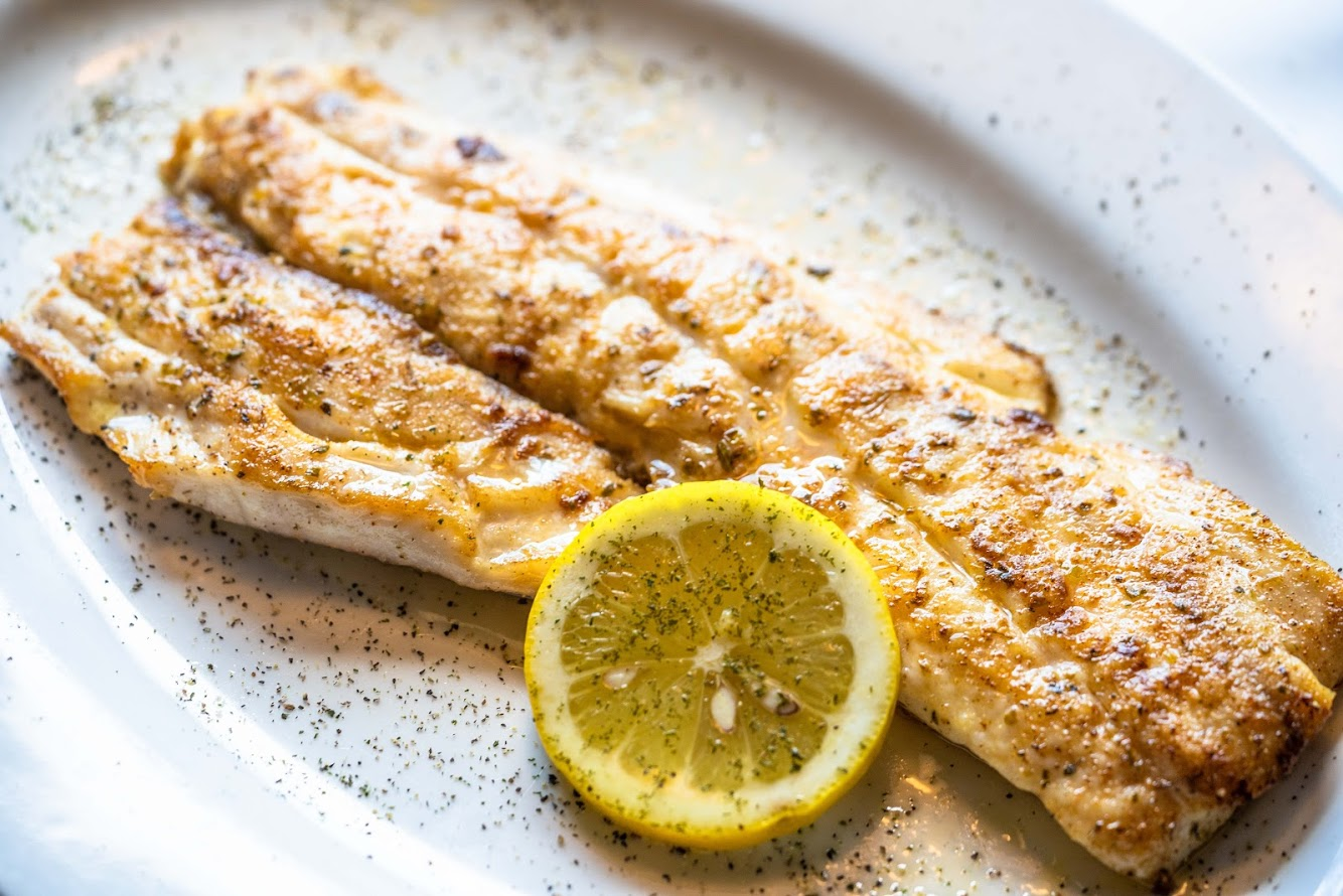 Chargrilled Gulf Snapper Fillet at Christie's Seafood & Steaks