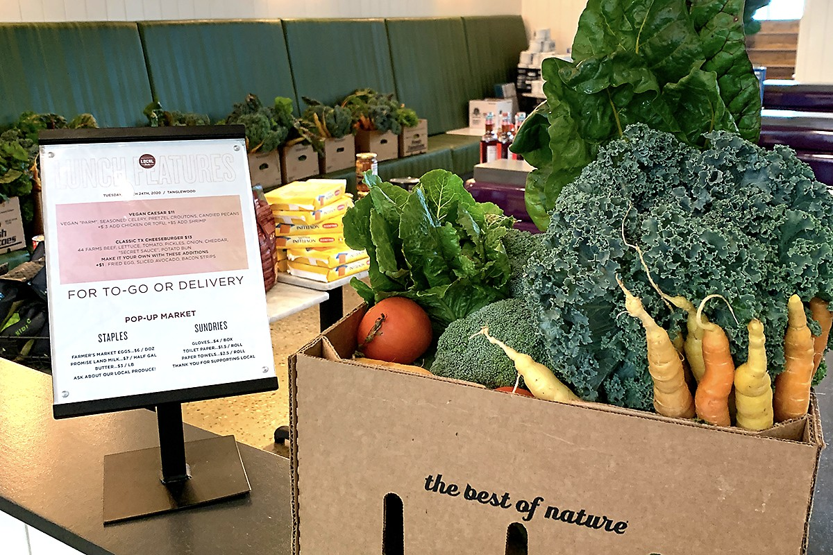 local foods produce box