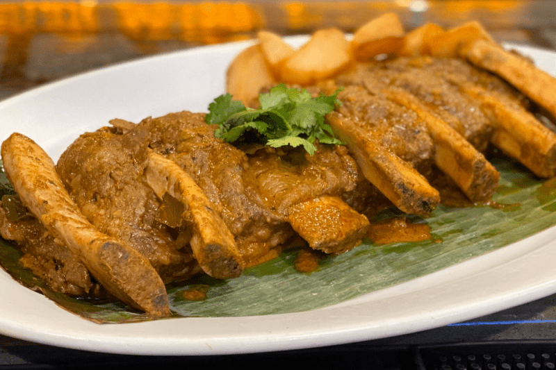 Curry Rendang Beef Short Ribs at Phat Eatery