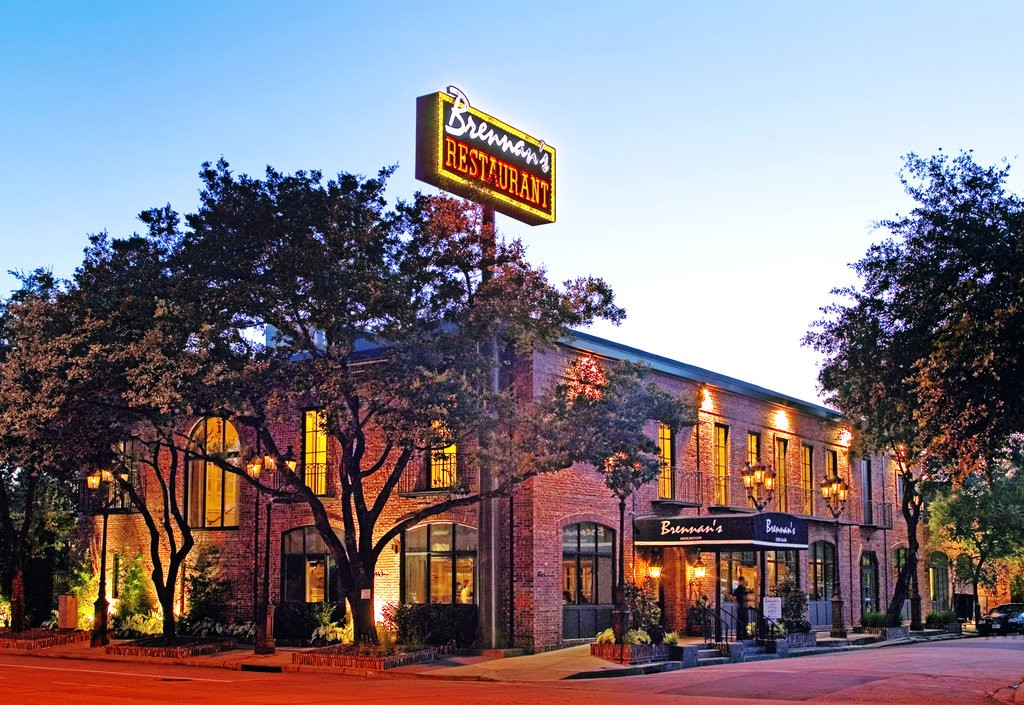 Image of the outside of Brennan's restaurant