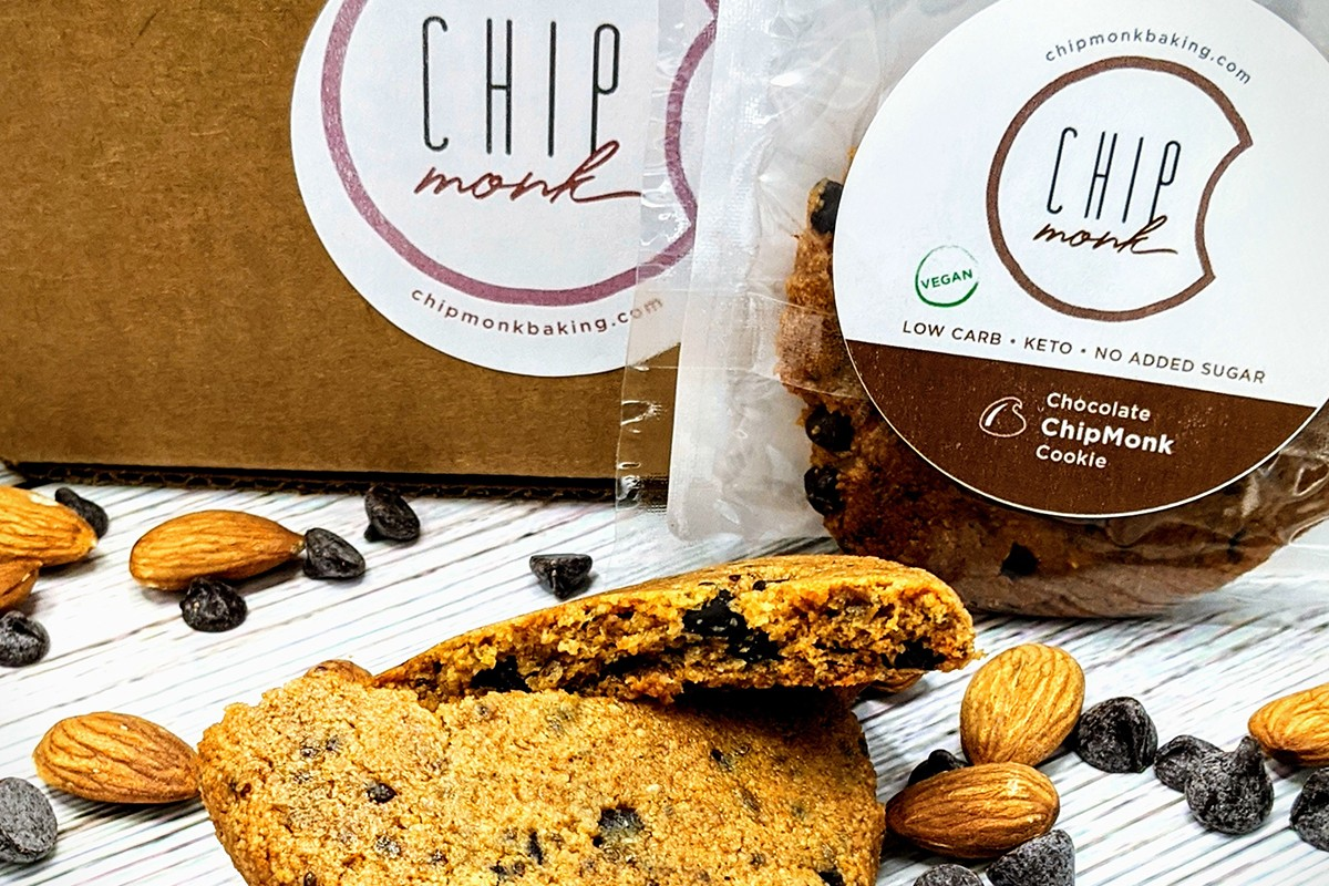ChipMonk Chocolate Chip Low Carb Keto Gluten Free Cookie