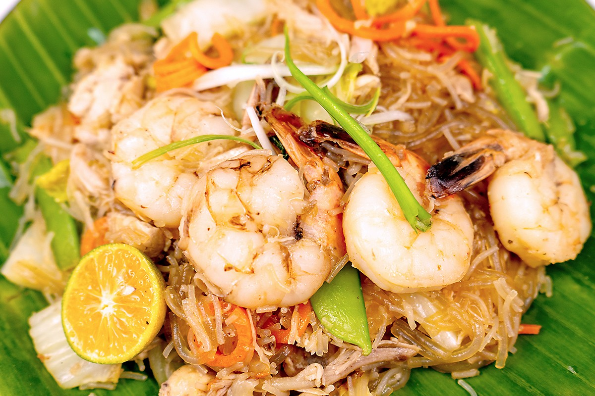 Sotanghon Pancit at Click Virtual Food Hall