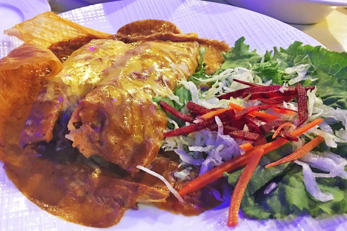 Tamales De Puerco at Emma's Mex Grill in Pearland