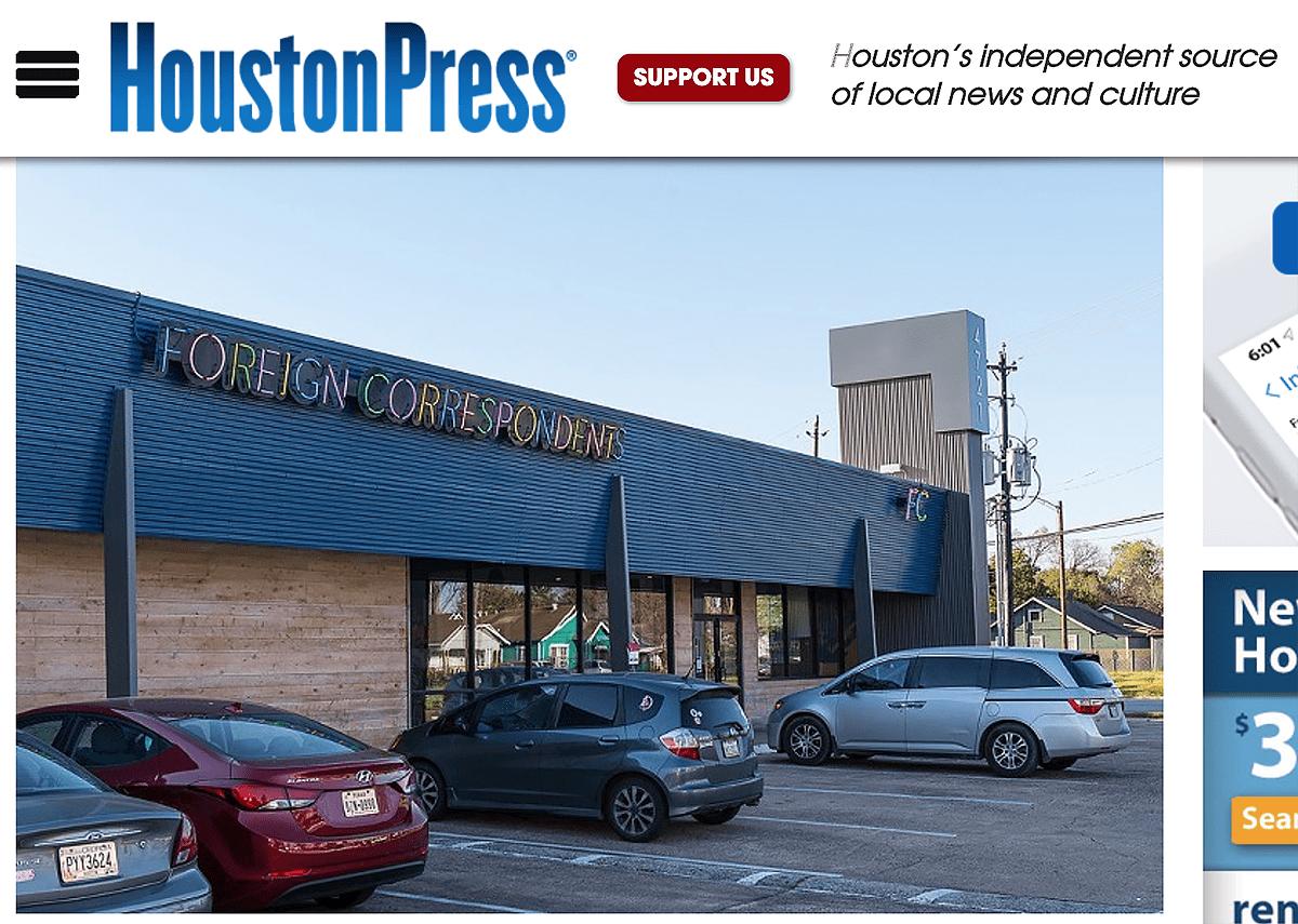 Houston Press foreign correspondents